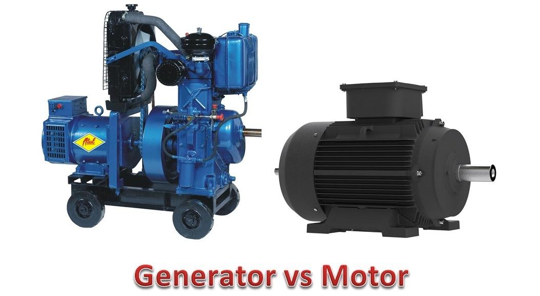 generator motor. Difference Between Generator And Motor R