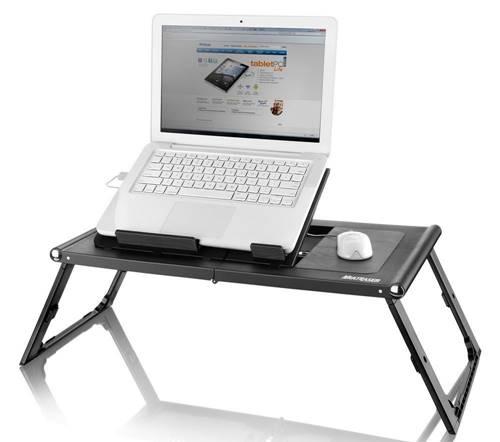 Mesa-cooler para apoiar seu computador, ela o manterá refrigerado e funcionando normalmente