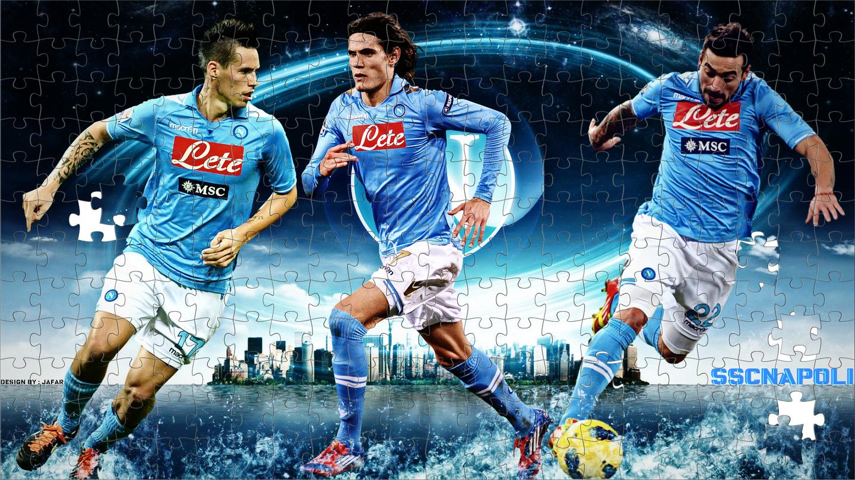 S S C Napoli: S.S.C. Napoli 2012 Wallpaper