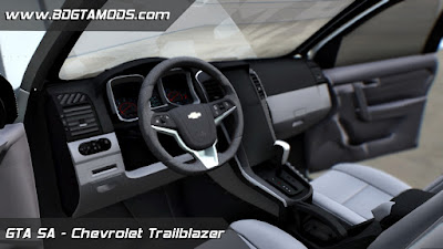 Chevrolet Trailblazer LTZ 2016 para GTA San Andreas 3