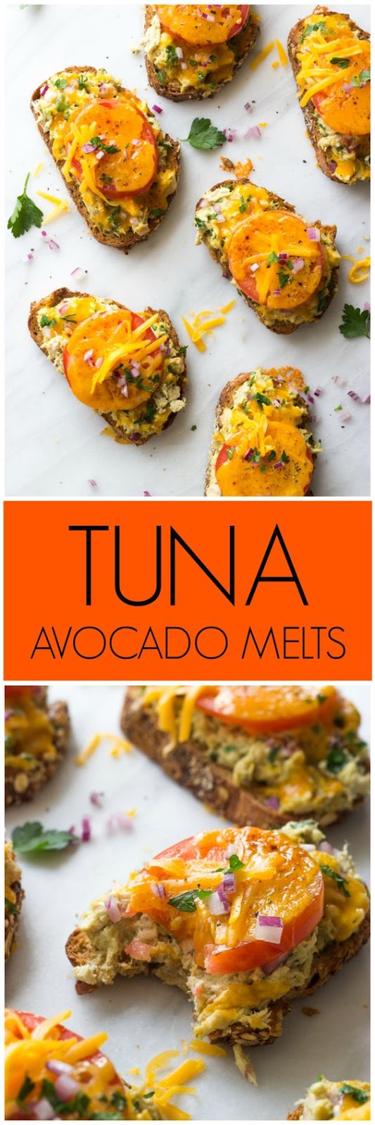 Tuna Avocado Melts