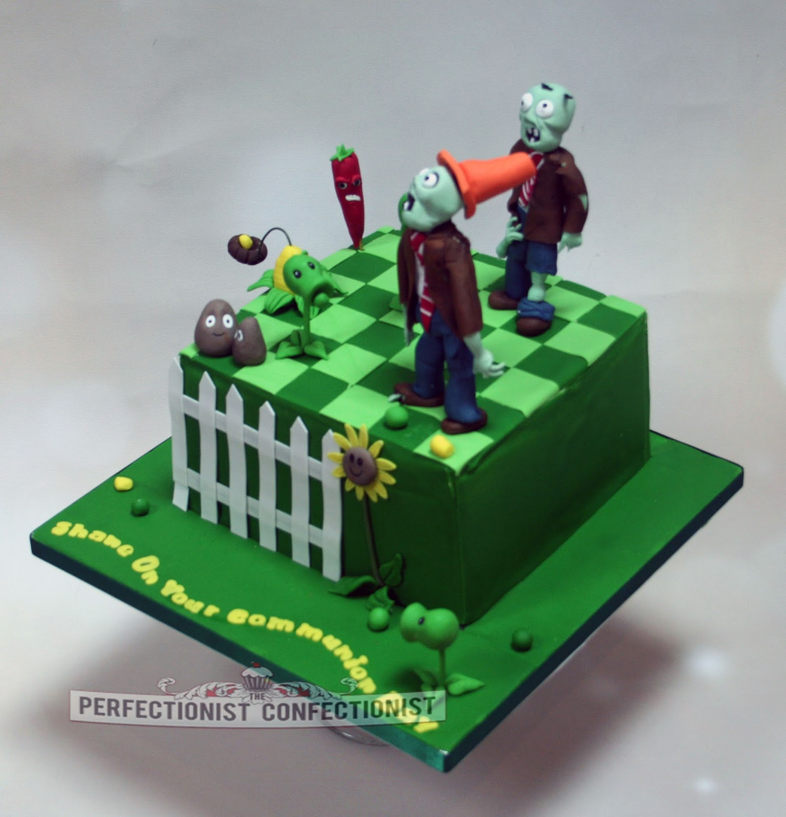 The Perfectionist Confectionist Shane Plants Vs Zombies