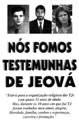 Resultado de imagem para ex- testemunha de jeová
