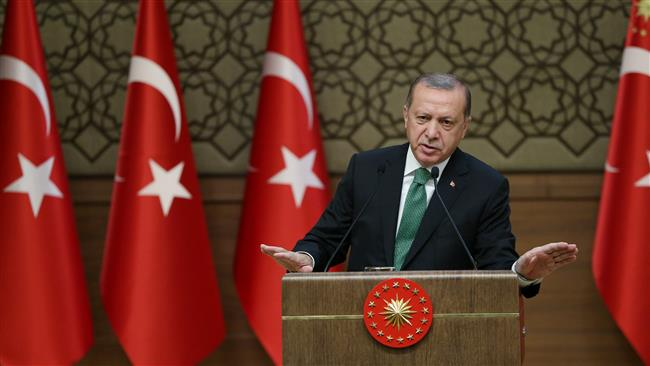 Turkey to thwart attempts to set up Kurdish state in Syria: Turkish President Recep Tayyip Erdogan