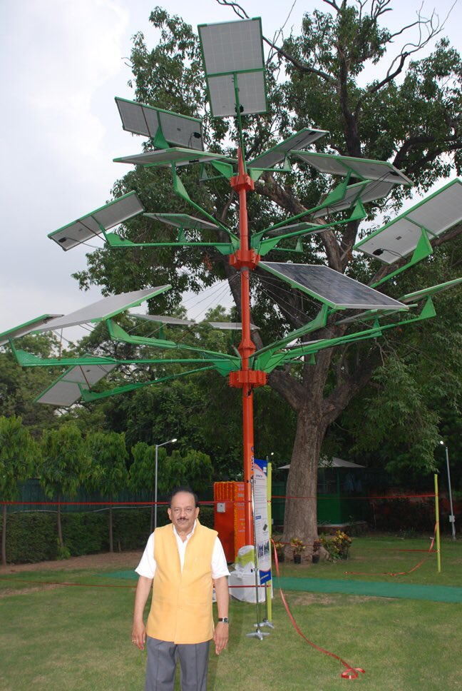 India launches solar power tree that generates 5 kw solar power india launches solar power tree that generates 5 kw solar power using only 4 square feet of land sciox Image collections