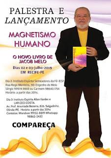 MAGNETISMO HUMANO - lançamento em Recife