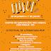 FESTIVAL DE LITERATURA POP (FLIPOP) 2018