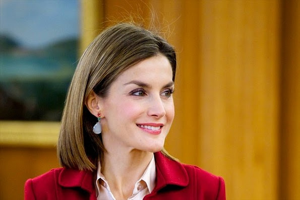 Queen Letizia Attended The Opening Of The 'Ingres' Exhibition