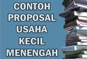 Contoh Proposal Usaha Kecil Lengkap