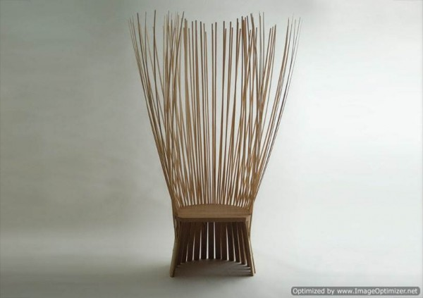 Unique Bamboo chair of Origin Japan | Furniture Design Idea