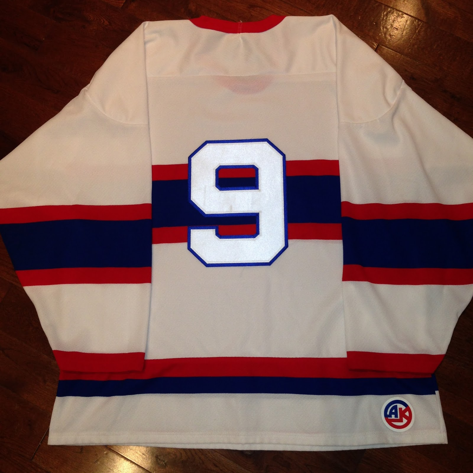 Posted here is a Montreal Canadiens Maurice