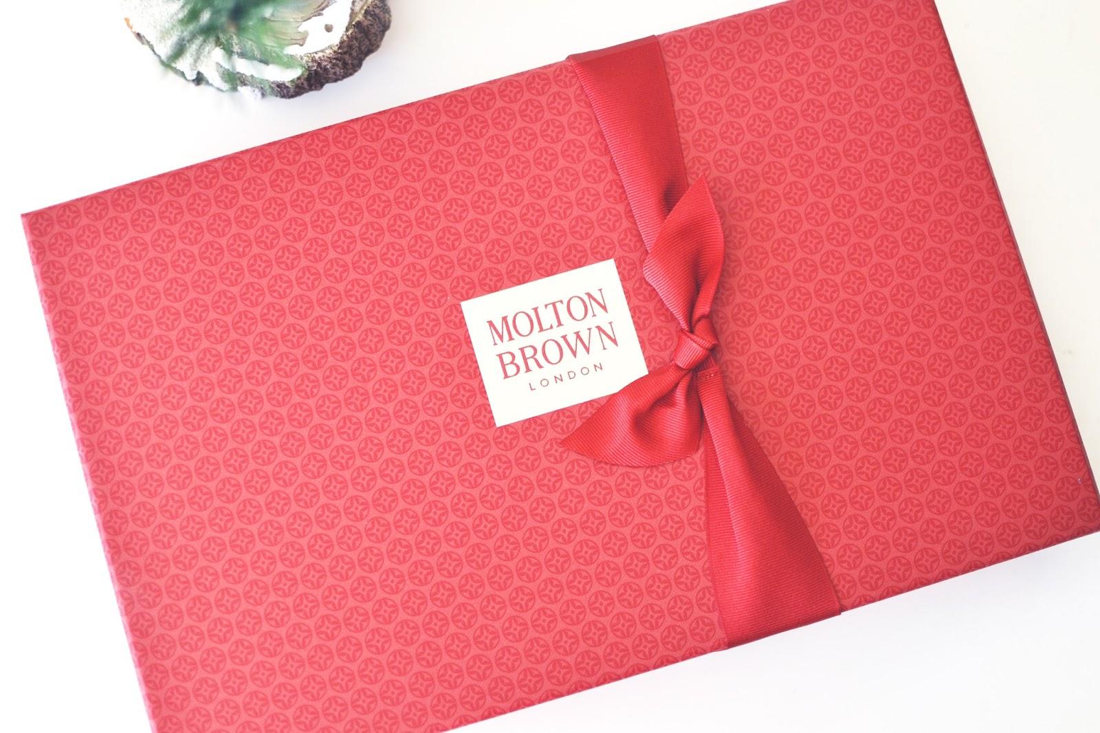 Molton Brown gift set, molton brown body wash