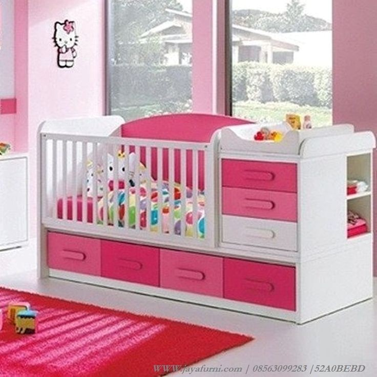 model tempat tidur bayi 4