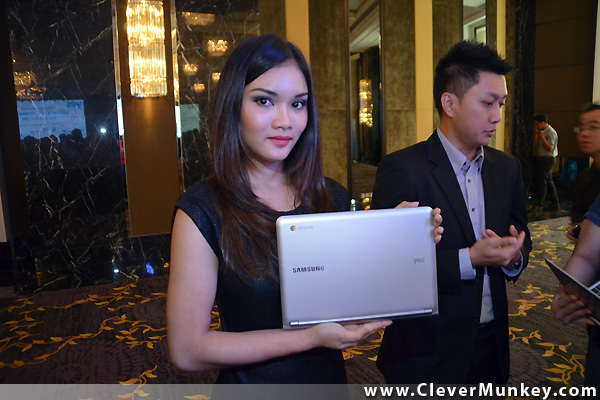 YES 4G Samsung Chromebook Launch in Malaysia - CleverMunkey