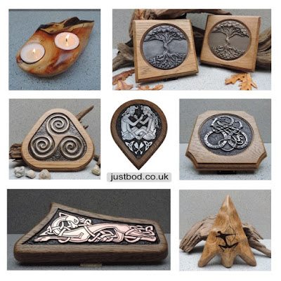 Celtic, Viking and Mythical gifts from Justbod