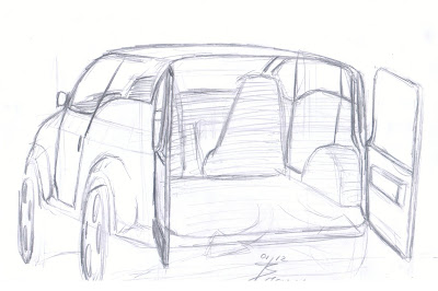 Evolution Design Blog: Fiat Fiorino, fast remake to BRoba