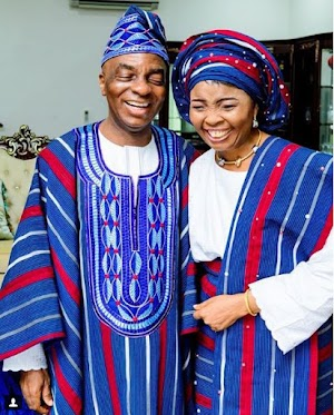 Living Faith G.O, Bishop Oyedepo & Wife Celebrates 36th Wedding Anniversary In New Style