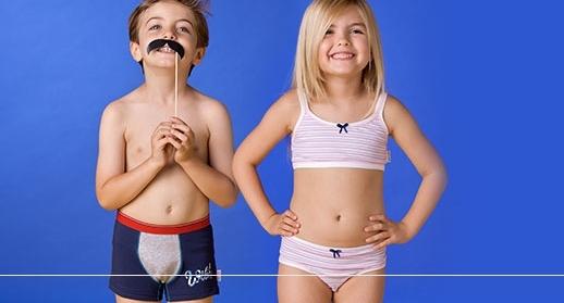 biancheria intima bambini