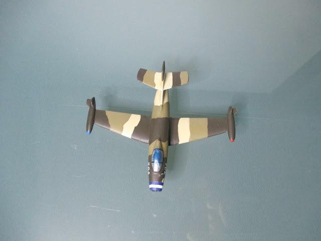 1/144 Dassault Ouragan Salvador diecast aircraft