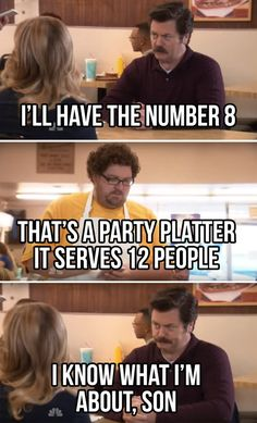 60+ Funny Ron Swanson quotes - Parks and Rec Quotes (2019 ...