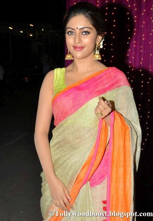 Anu Emmanuel At Zee Telugu Apsara Awards 2017 In Yellow Saree