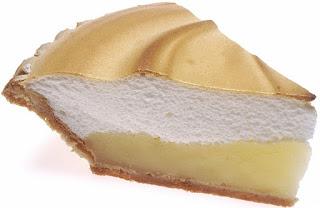 easy lemon sponge pie recipe
