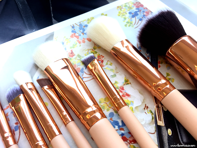 An Ebay make up brush find 3 | Zoeva rose gold set dupe make up brushes | Love, Maisie