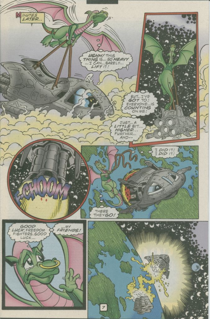 Read online Sonic The Hedgehog comic -  Issue #74 - 9
