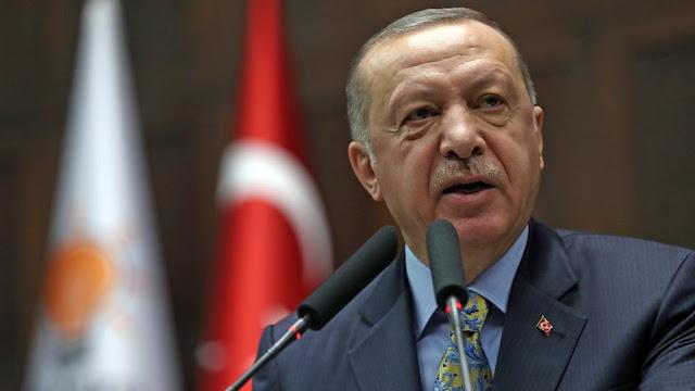 Ερντογάν: Επιμένει στα «σύνορα της καρδιάς» και αποκαλεί τα Σκόπια «Μακεδονία»