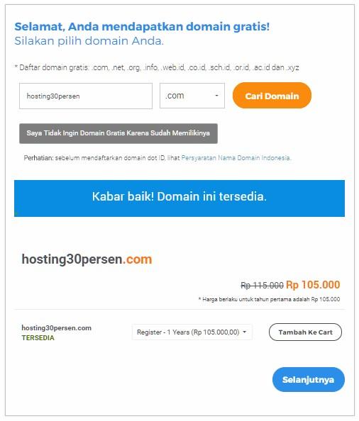 Web Hosting Murah Niagahoster