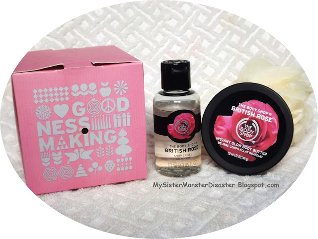 REVIEW : THE BODY SHOP 'BRITISH ROSE' TRAVEL SIZE
