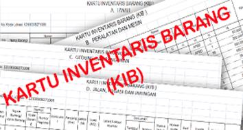 Format Pengisian Kartu Inventaris Barang (KIB) Sekolah