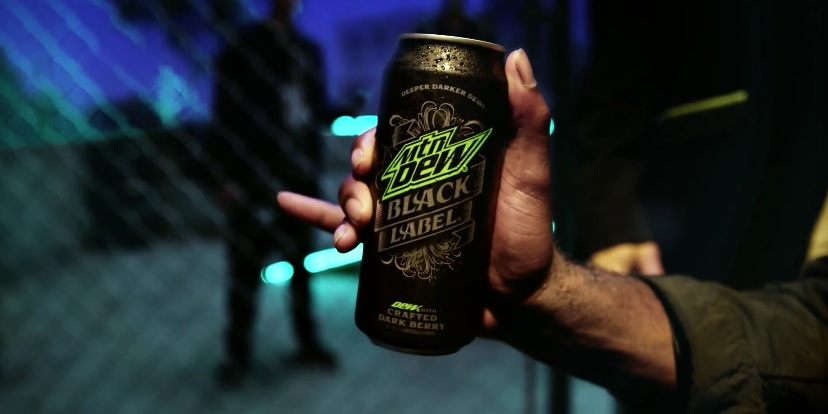 "Mountain Dew Black Label: ""Gentlemen of the Jacket"" - It's A Classy Deeper Darker Dew"