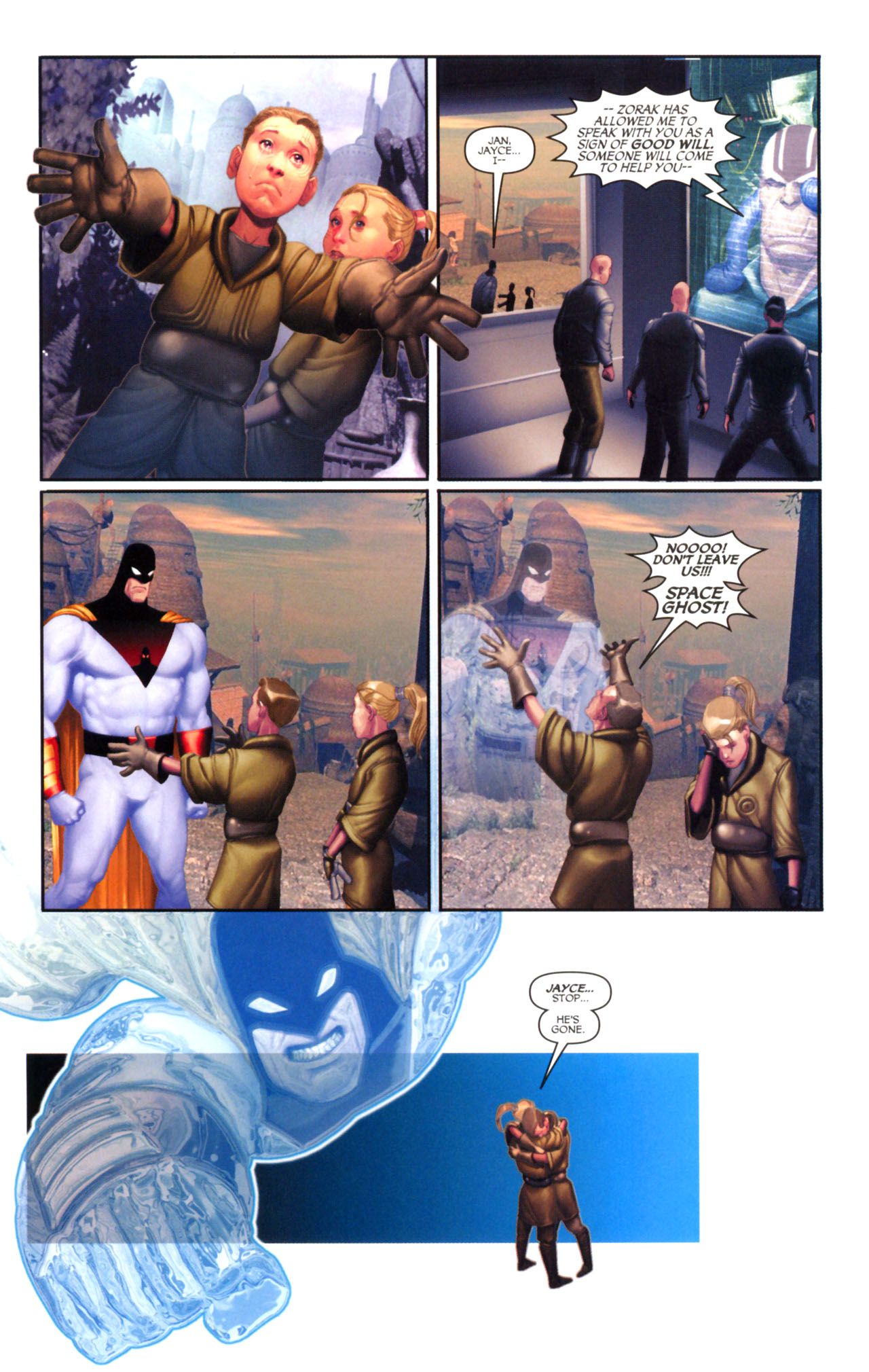 Read online Space Ghost (2005) comic -  Issue #5 - 8