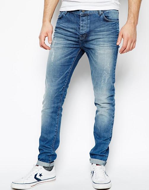 5 nguyên tắc chọn quần jean nam thời trang năm 2017