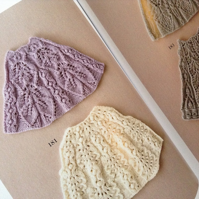 Japanese stitch patterns for knitting by Hitomi Shida