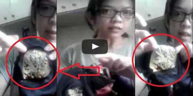 VIDEO - Cium bau busuk di balik bra, wanita ini menemukan sesuatu yang mengerikan