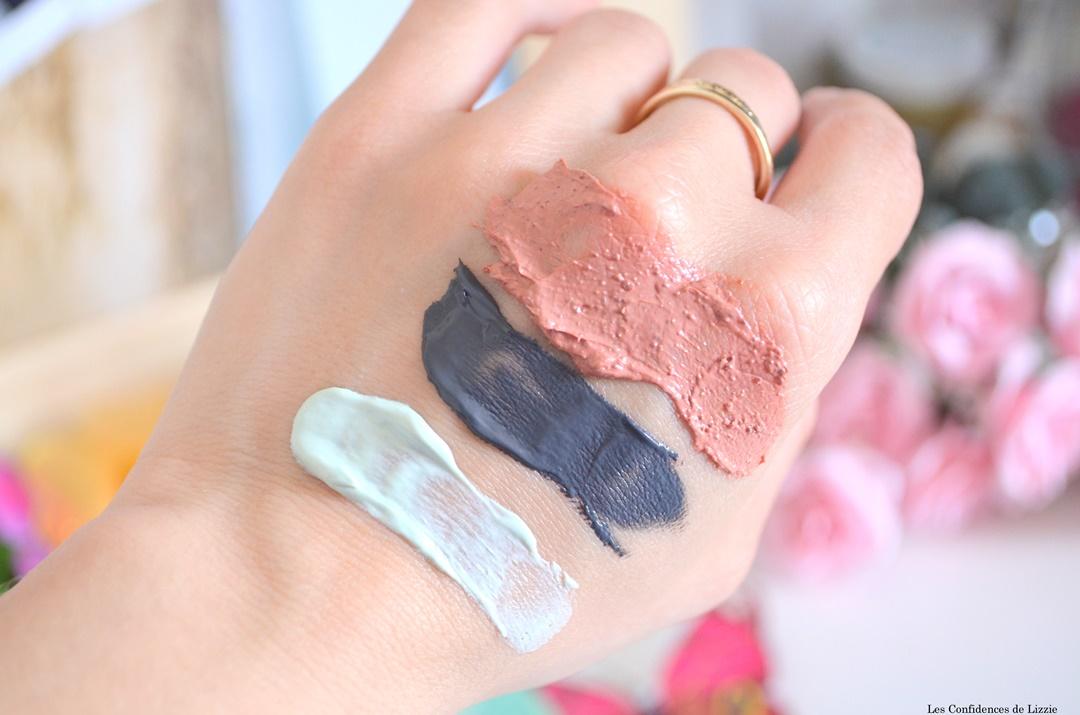kaolin - montmorillonite - ghassoul - masques purifiant - masque detox - masque lissant