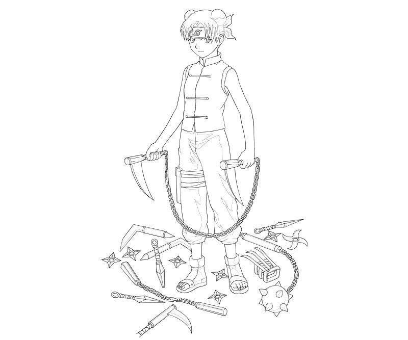 Naruto Tenten Weapon | Temtodasas