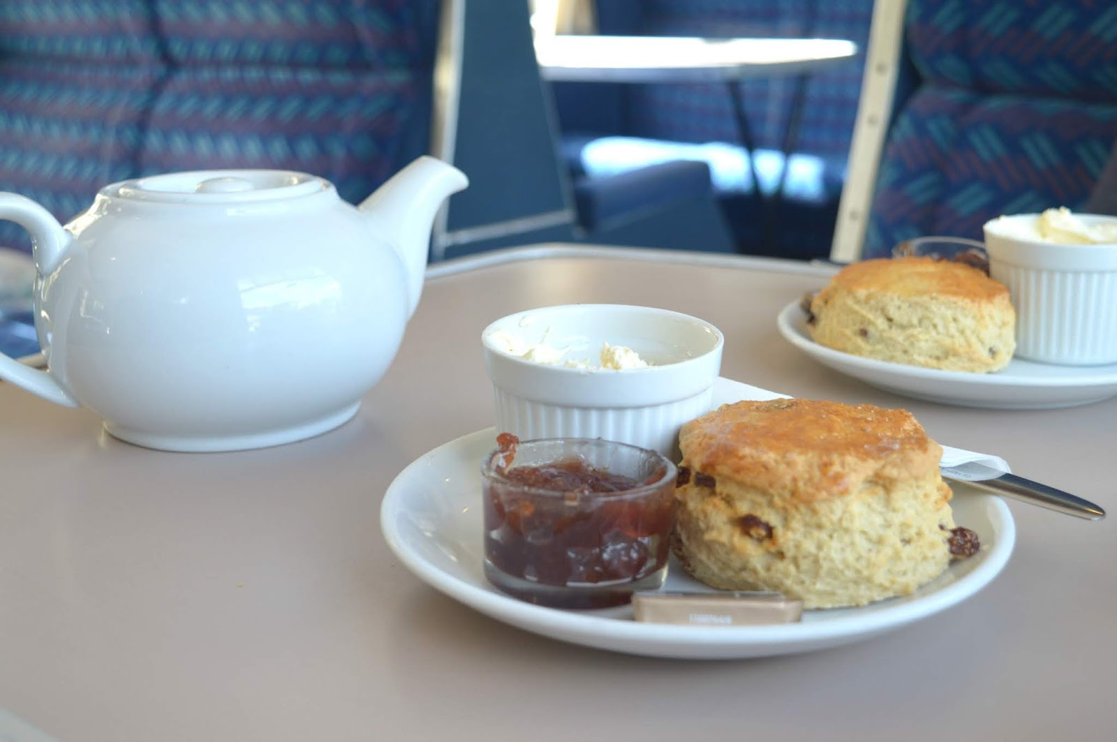 Bellingham - Carriages Tea Room Cream Tea