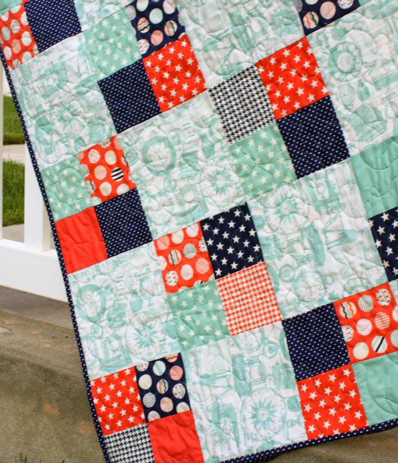 Fast Four Patch Quilt Tutorial Diary Of A Quilter A
