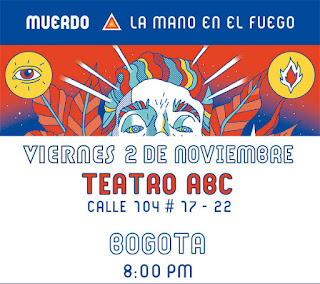 Concierto de MUERDO en TEATRO ABC Bogotá 2018