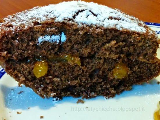Torta di cacao e marmellata - Letychicche