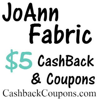 JoAnn Fabric Cashback & Coupons Ibotta, Ebates, MrRebates and Gocashback
