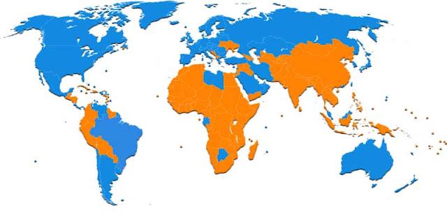 Gambar Peta pola selatan