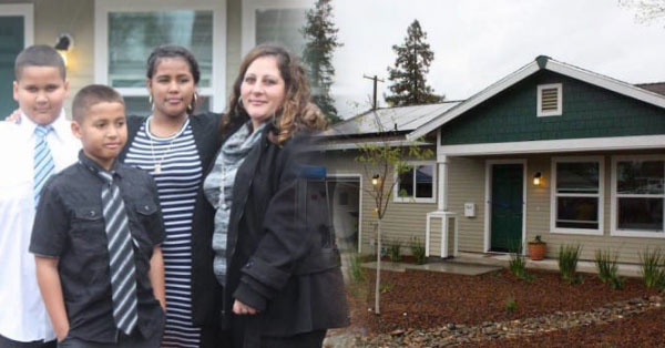 A mom's discontent over her family's current situation turned to something positive - a new home for her and her children!