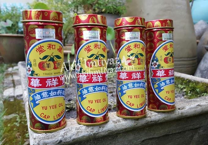 Minyak Yu Yee Cap Limau Untuk Seisi Keluarga