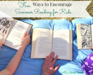 encourage summer reading for kids