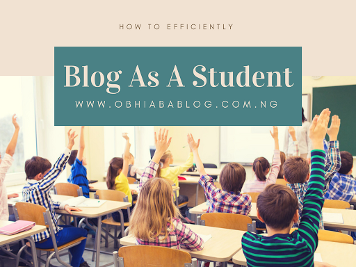 How To Efficiently Blog As A Student.