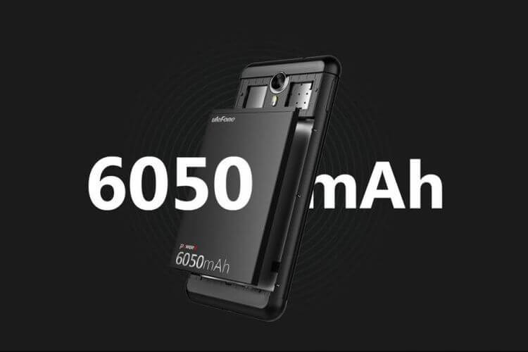 "Ulefone Power 2: long-playing ""Chinese"" with a battery of 6050 mAh"